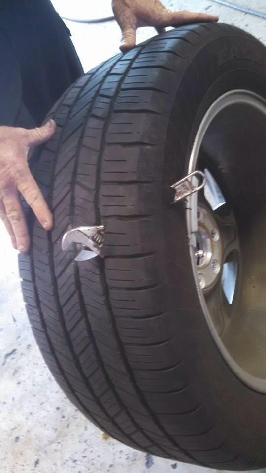 ремонт безкамерных шин