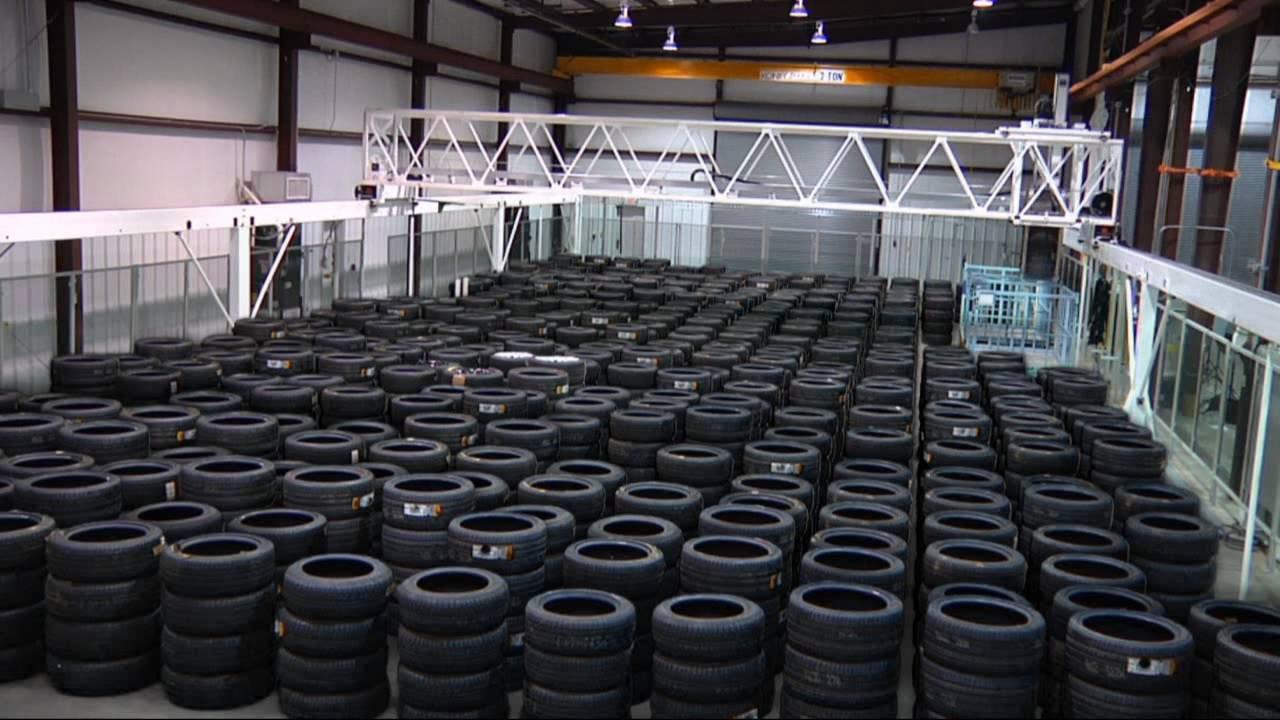 промышленное хранение шин