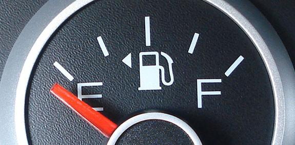 Закончился бензин?